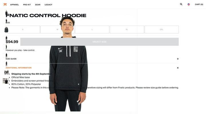 Fnatic Control Hoodie