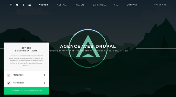 Advency | Agence web Drupal Toulouse et SEO/SEA Paris