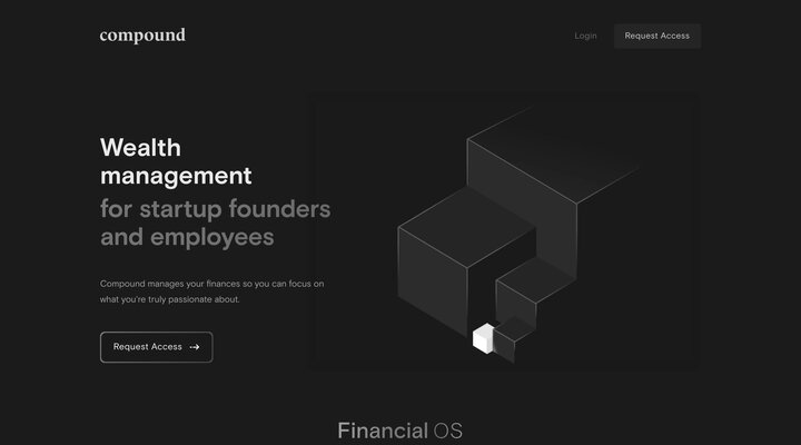 Compound - Wealth Management for Startup Founders and Employees
