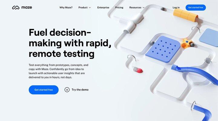 Rapid testing for modern teams | Maze