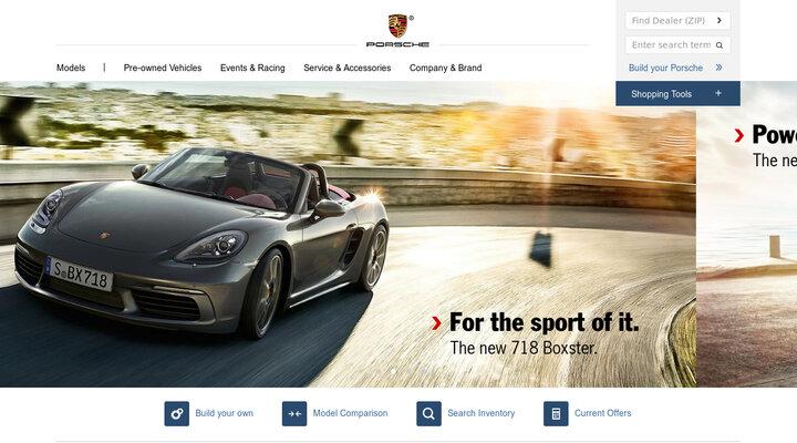 Porsche HOME - Porsche Cars North America