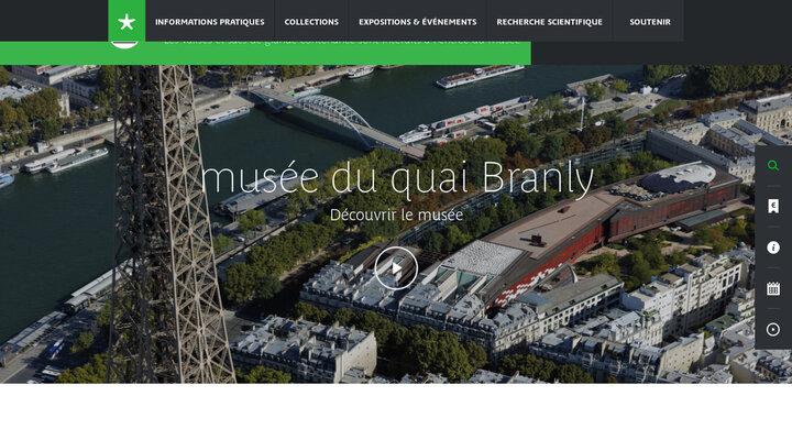musée du quai Branly - Production - musée du quai Branly - Accueil