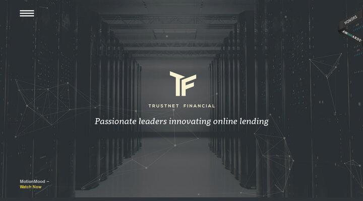 Trustnet Financial - Passionate leaders innovating online lending