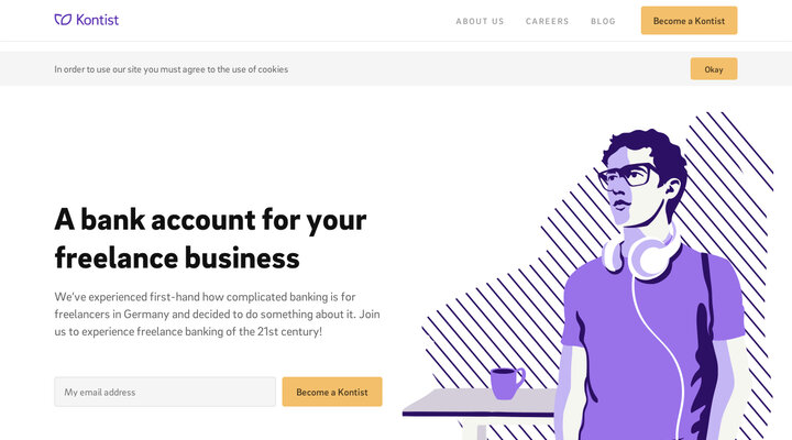 Kontist, smarter banking for your personal business