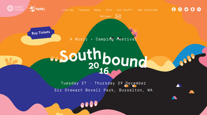 Home - Southbound 2016