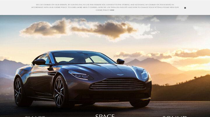 Aston Martin DB11 | Home