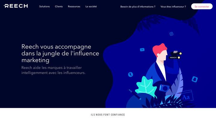 Reech - Solutions d'influence marketing sur-mesure