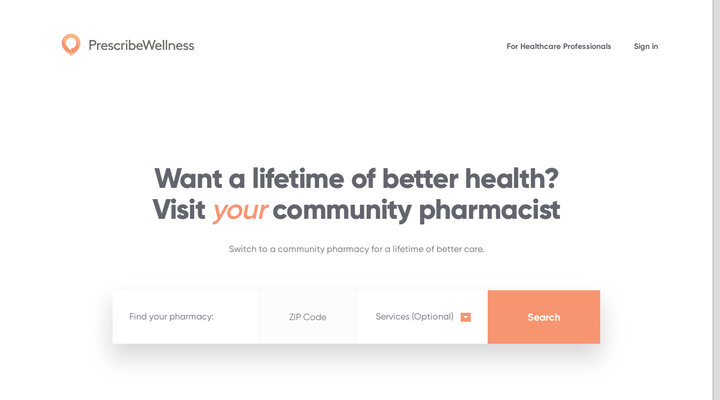 Prescribe Wellness - Home