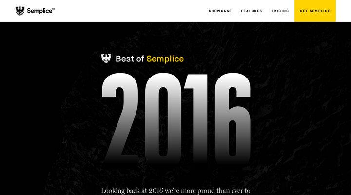 Best of Semplice 2016