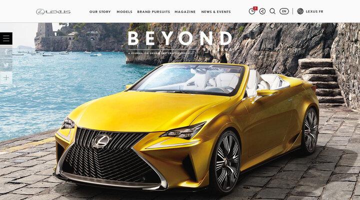 BEYOND BY LEXUS Magazine | Lexus International