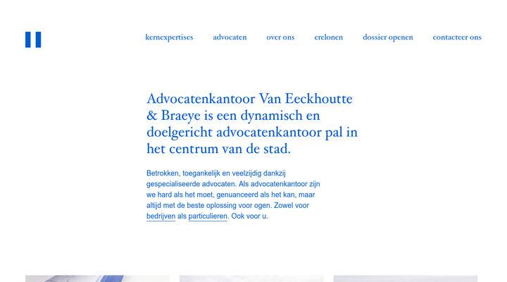 Van Eeckhoutte & Braeye advocaten – Roeselare