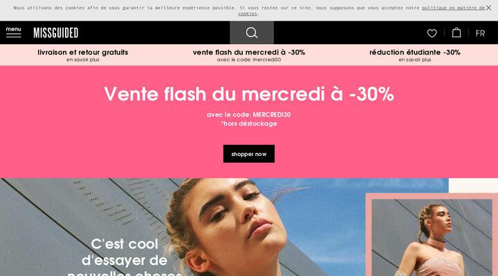 Site de vêtement | Mode femme & shopping en ligne - Missguided