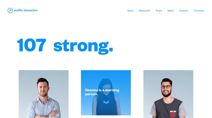 Team – Prolific Interactive