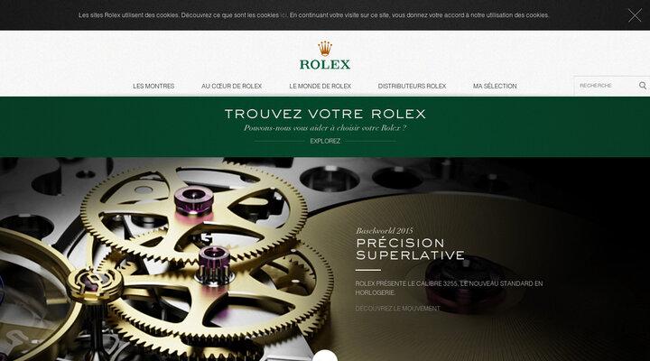 Site Officiel Rolex - Montres de Luxe Intemporelles