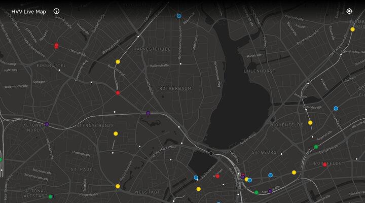 HVV Live Map