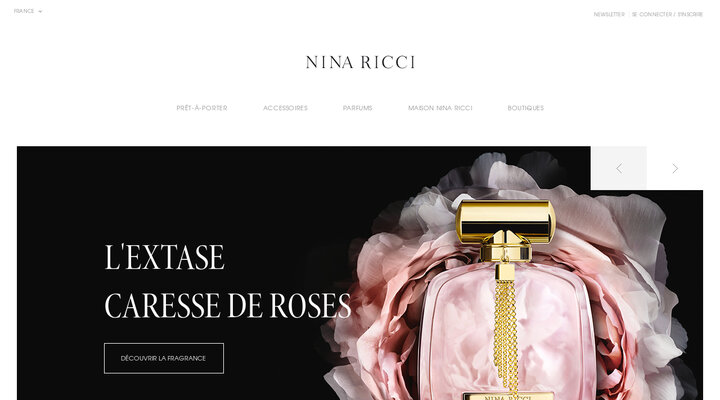 NINA RICCI Site Officiel