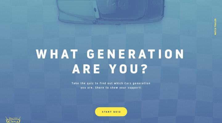 Cars 3 Generations