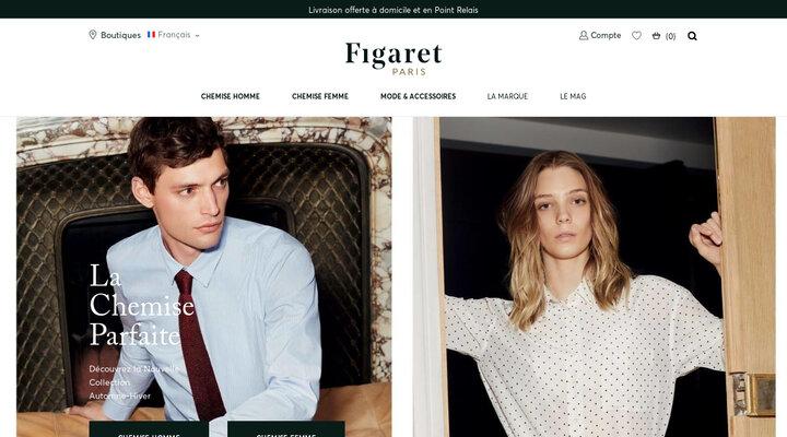 Figaret Paris - La chemise parfaite pour homme et femme