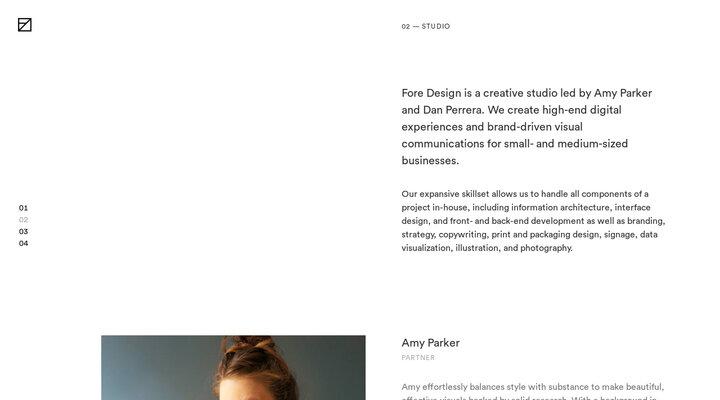 Studio — Fore Design