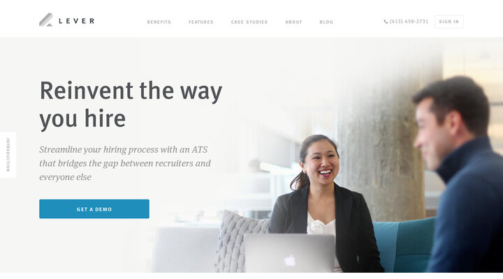 Lever - A modern web app for hiring